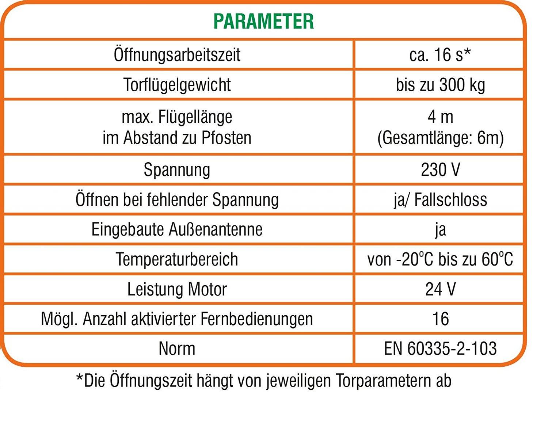 Pforte 4m x 1,5m Einfahrtstor Doppelflügeltor Hoftor Sparta elektrisch 3,5m
